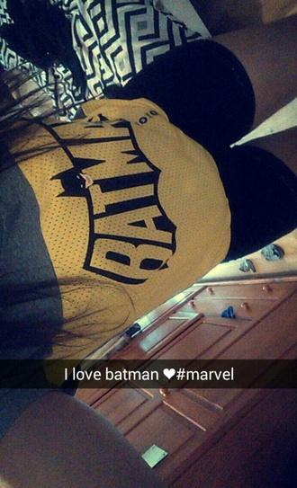 top marvel superheroes marvel jaune style batman shirt undiz
