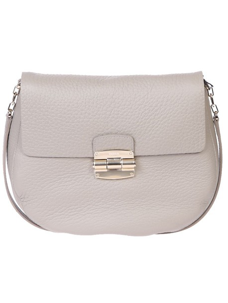 Furla bag shoulder bag leather beige