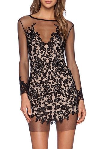 dress zaful mesh dress black mesh dress black dress lace dress black lace dress prom dress