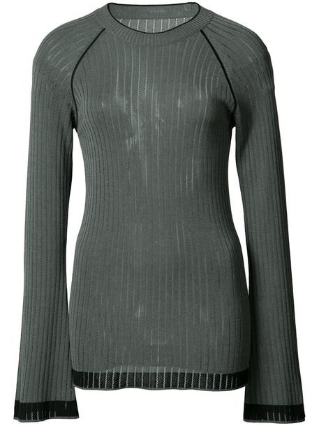 Misha Nonoo - Sylvia top - women - Cotton/Viscose - S, Grey, Cotton/Viscose