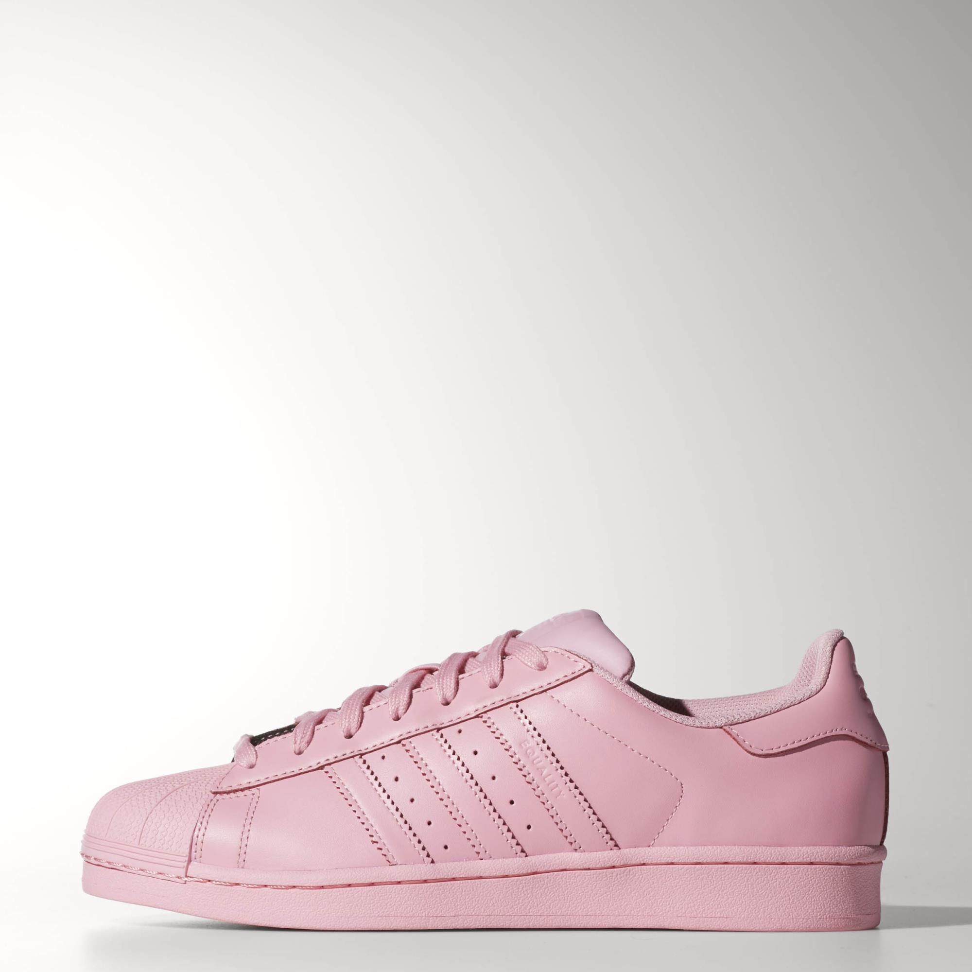 2389b782268f5c Adidas Superstar Supercolor Light Rosa ohne-papa.de