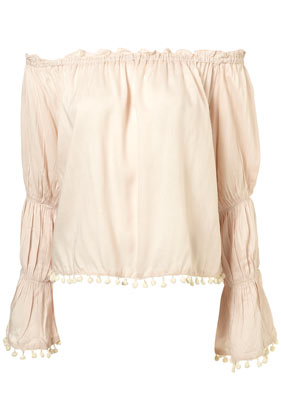 Bauble trim gypsy top by rare**