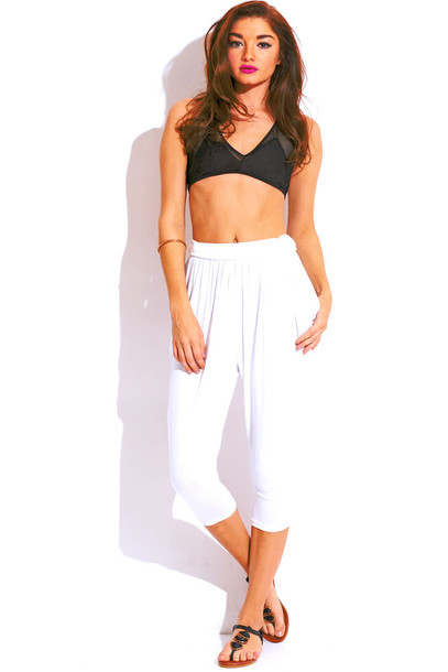 Pants: summer outfits, harem pants, parachute pants, capri pants ...