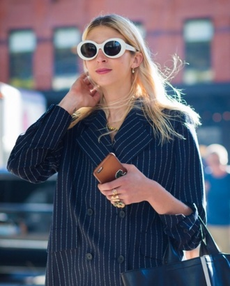 sunglasses round sunglasses retro sunglasses white sunglasses white oval sunglasses grunge 90s style 90s grunge glasses sunnies style accessories accessory