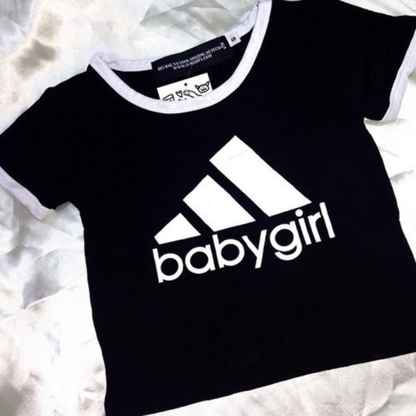 Top, Baby Girl, Baby Girl, Adidas, Aesthetic, Aesthetic