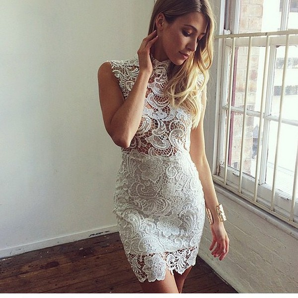 dress lace dress sexy dress sexy white dress