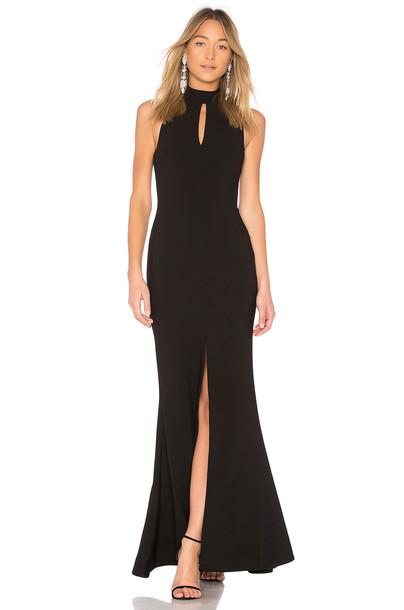 Likely gown black dress