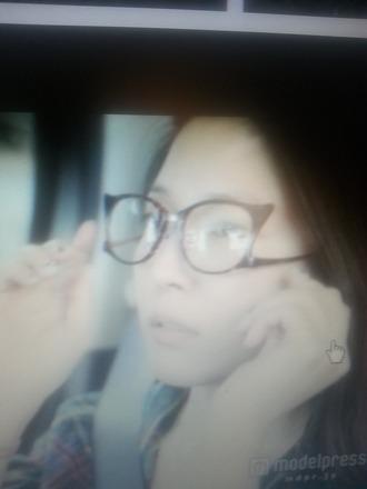 glasses japanese cat eye cat ears cat eye glasses pearl faketokyo brown glasses