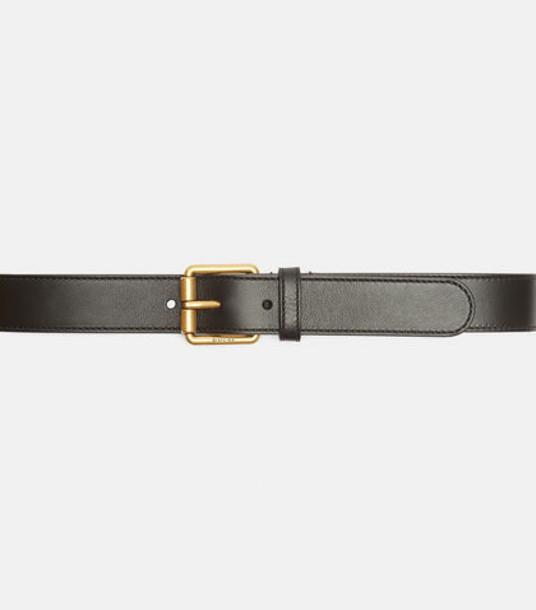 Gucci Horse Buckle Belt in black