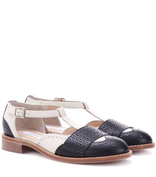 Gabriela Hearst leather black shoes