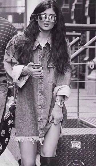 boho jacket kylie jenner grunge indie
