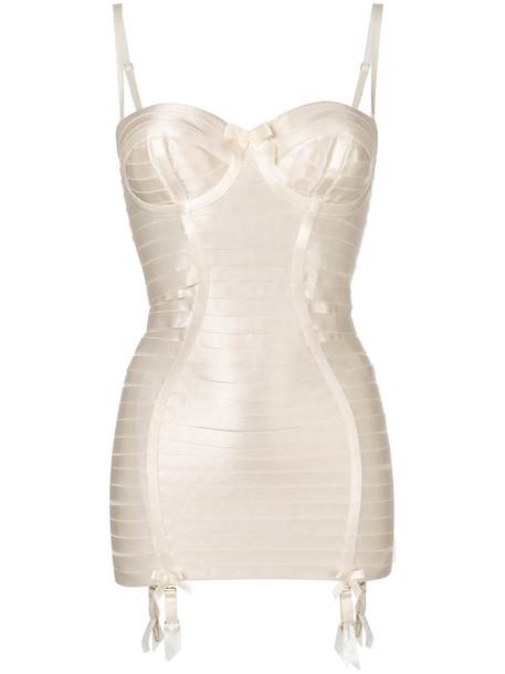 Bordelle dress women spandex nude