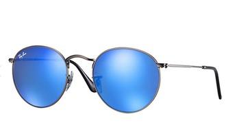 sunglasses round sunglasses blue