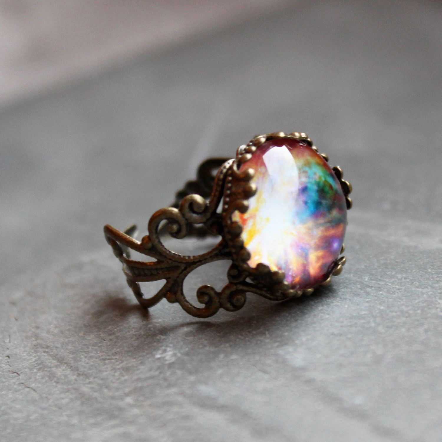 Orion Lacy Ring - Wanderlust Collection from DittyDrops on Storenvy