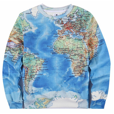 World Map Sweater.Aliexpress Com Buy New 2015 Men Hoody Coral Panda World Map Print