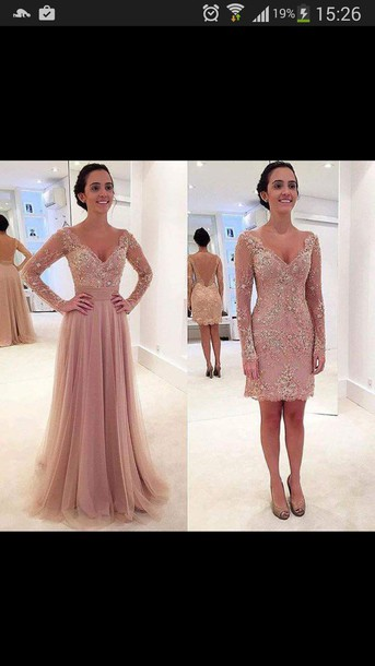 65ded12a5 dress rose pink pink flowers prom long prom dress love amazing beautiful  long sleeves prom dress
