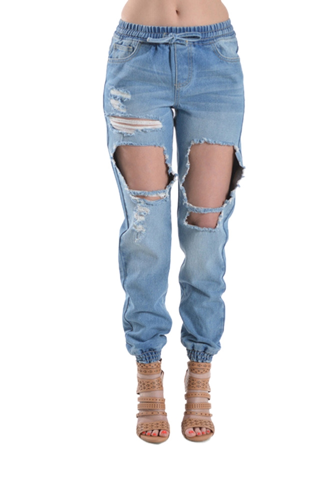 Light Blue Jeans For Womens