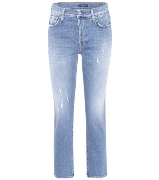 7 For All Mankind jeans high blue
