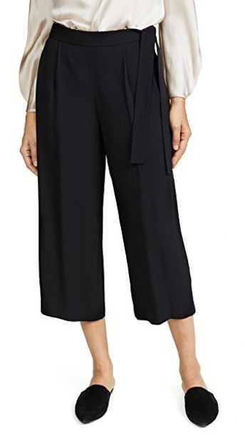 Vince culottes black pants
