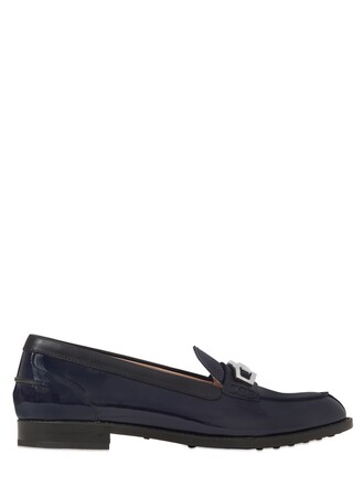 loafers leather dark shoes