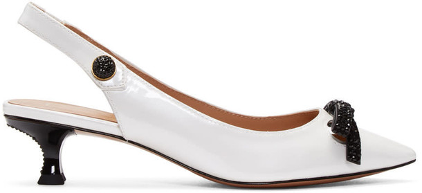 Marc Jacobs heels white shoes