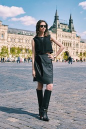 oh my blog,blogger,top,skirt,shoes,sunglasses,jewels