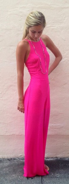 dress pink long pink dress summer dress hot pink dress dime summer shoes summer outfits prom dress cute dress neon dress hot pink maxi dress maxi dress hot pink playsuit maxi high neck