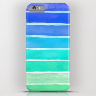 phone cover blue green colorful patterns iphone 6 plus case