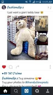 home accessory,bear,teddy bear,giant teddy bear,giant teddy,brown,ours en peluche,ours g?ant