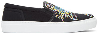 tiger sneakers black shoes