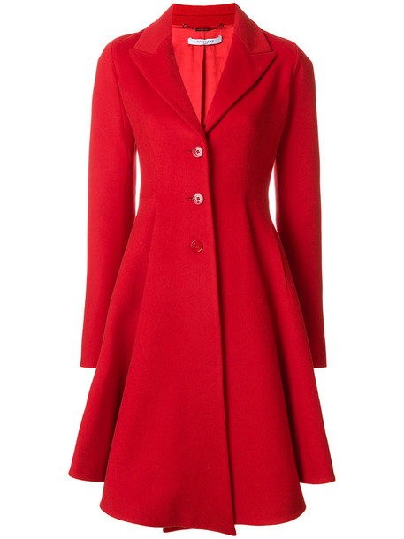Givenchy coat women wool red