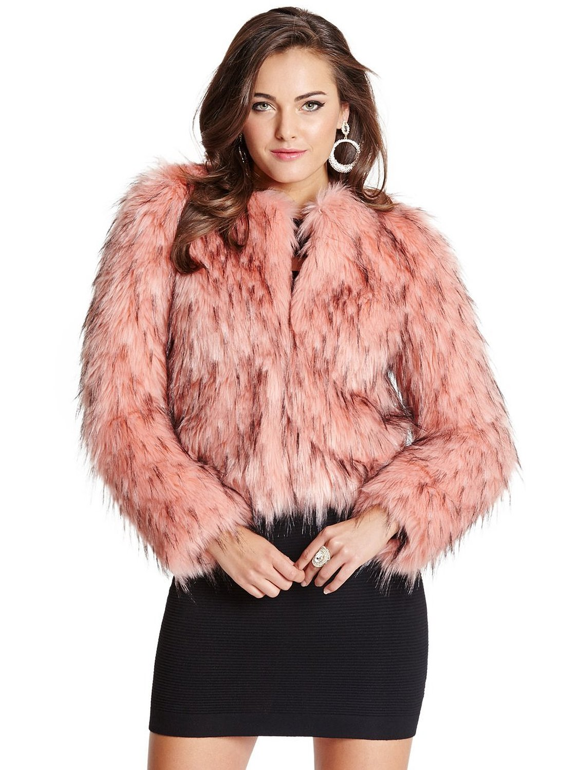 Women's Lula Faux-Fur Jacket at Amazon Women's Coats Shop