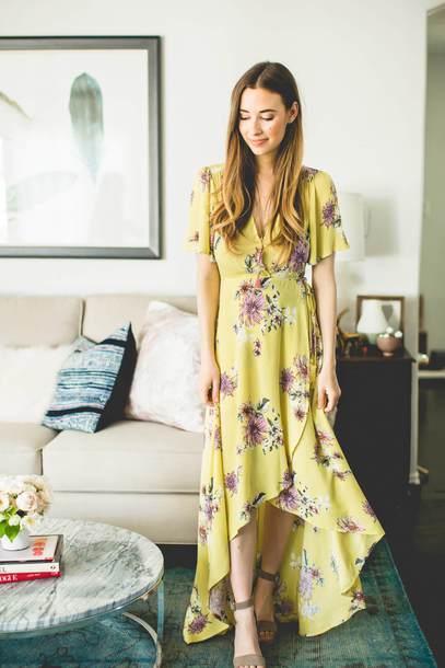 Spring Wrap Dresses