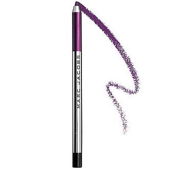 make-up eyeliner eye makeup face makeup marc jacobs plum purple