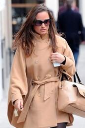 jacket,pippa middleton,camel jacket,cashmere,alice temperley,beige,nude