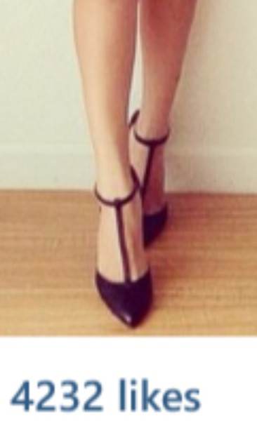 shoes heels black t strap