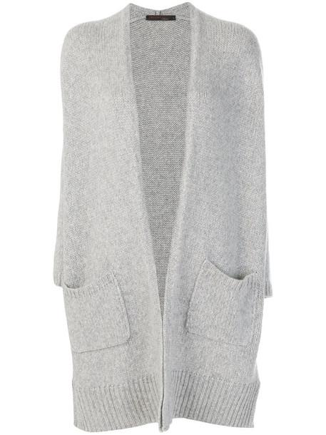 Incentive Cashmere cardigan cardigan women grey sweater