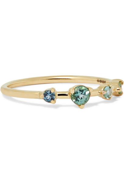 WWAKE ring gold jewels