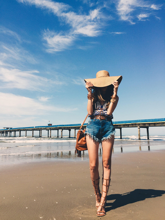 fashion coolture blogger top shorts