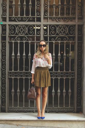 my showroom shirt skirt bag shoes sunglasses