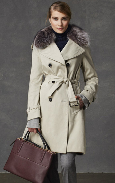 coat lookbook fashion coach bag