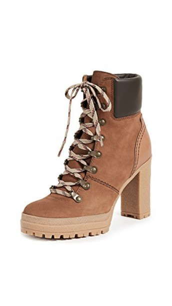 See by Chloe lace up boots lace shoes