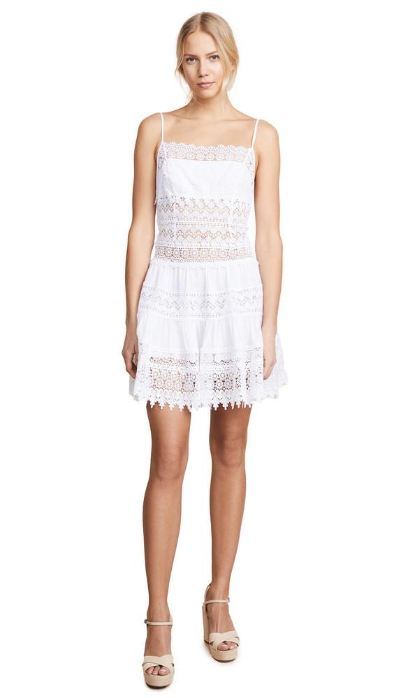 Charo Ruiz Joya Dress in white