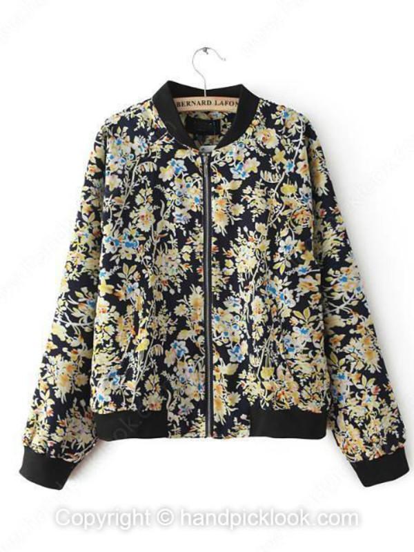 floral coat coat