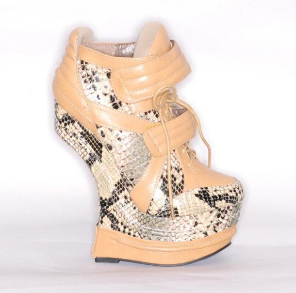 shoes heelless wedges