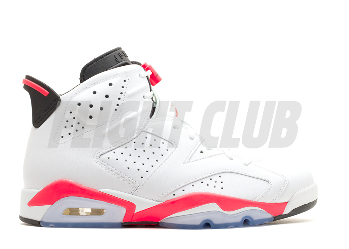 "air jordan 6 retro ""infrared 2014"" - white/infrared-black - Air Jordan 6 - Air Jordans  