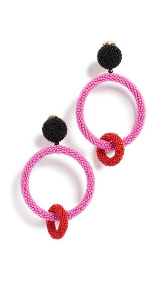 beaded earrings jewels