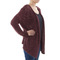 Silk culture sequin knitted wrap around burgundy sexy cardigan sweater s nwt$198 | ebay