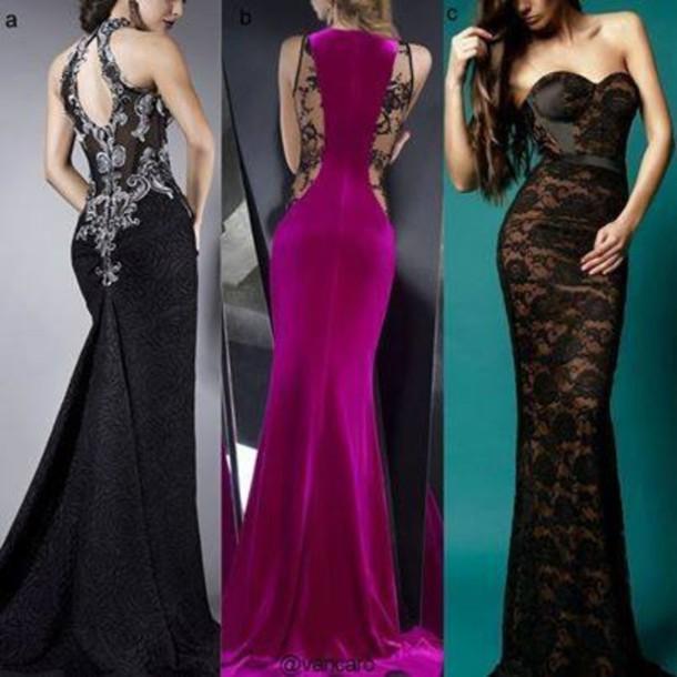 dress sexy long evening dress lace dress lace little black dress black see through evening dress sweetheart neckline