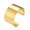 The 'grace' hammered wrist cuff - 18k gold